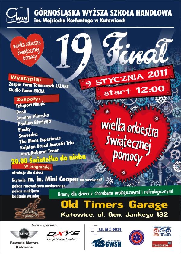 Wielka Orkiestra Świątecznej Pomocy w Old Timers Garage