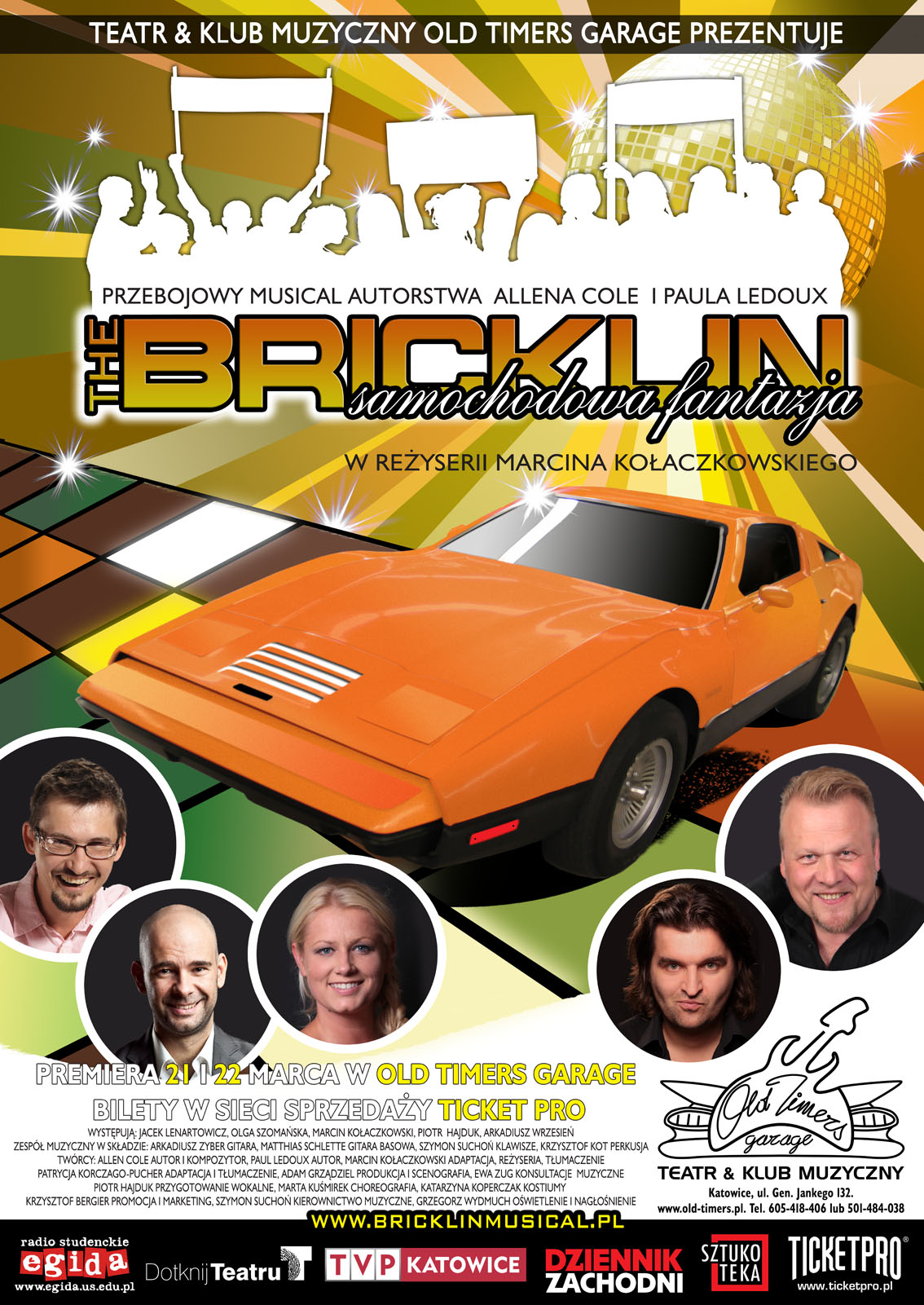 The Bricklin Musical w Old Timers Garage