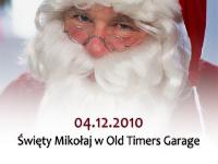 Święty Mikołaj w Old Timers Garage